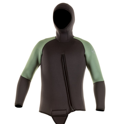 Product page for the JMJ Wetsuits Beavertail Jacket