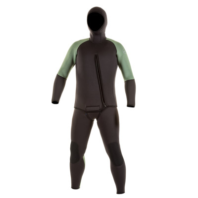 Product page for the JMJ Wetsuits Farmer John & Beavertail Jacket Combo