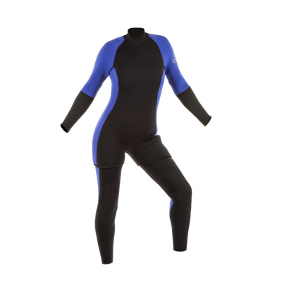Product page for the JMJ Wetsuits Farmer John & Step in Jacket Combo