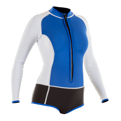 Product page for the JMJ Wetsuits Flatlock Long-Sleeve Springsuit