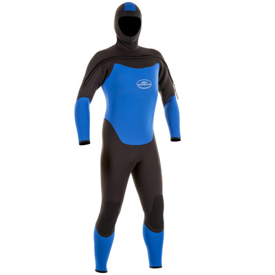Product page for the JMJ Wetsuits Fullsuit with Attached Hood