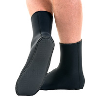 JMJ Knobby Sole Boot in black showing sole