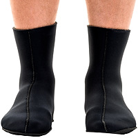 JMJ Knobby Sole Boot in black