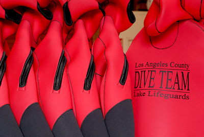 Los Angeles County lifeguard wetsuits made by JMJ Wetsuits