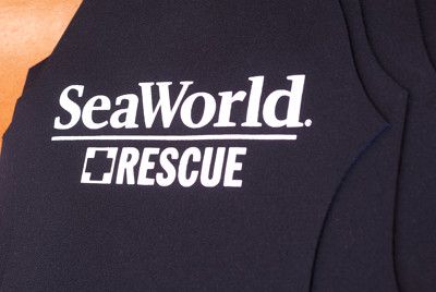 Wetsuit for Sea World made by JMJ Wetsuits