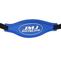 JMJ neoprene mask strap in royal blue
